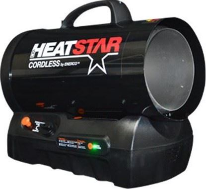 Picture of HeatStar Cordless Portable Propane Forced air Heater, HS60CLP, F128835