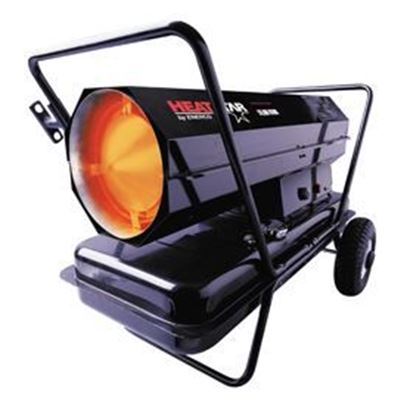 Picture of HeatStar Portable Forced Air Kerosene Heater, HS175KT, 175,000 BTU, F170375