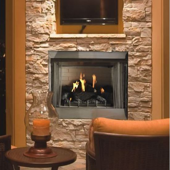 Picture of Carol Rose 42 Traditional Premium Outdoor Fireplace