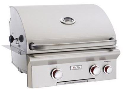 """Picture of American Outdoor Grill, 24"""" Built In Grill, 24NBT"""