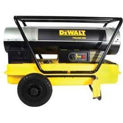 Picture of Dewalt Portable Forced Air Kerosene Heater, DXH190HD