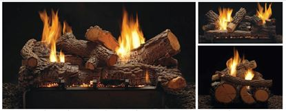 Rock Creek vent free log set